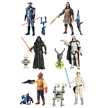 Star Wars Action Figures 10 cm 2016 Jungle/Space Wave 2 Assortment (12)