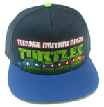 Teenage Mutant Ninja Turtles Baseball Cap Faces Contrast