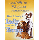Lady and the Tramp Magnet 195089