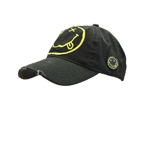 Nirvana Smiley Cap