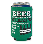 Beer Vitamins Koozie