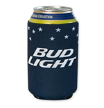 BUD LIGHT Stars Koozie