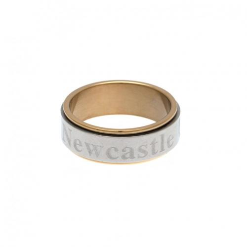 Newcastle United F.C. Bi Colour Spinner Ring X-Large