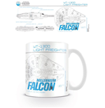 Star Wars Episode VII Mug Millenium Falcon Sketch