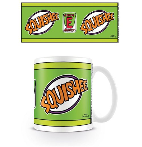 Official Simpsons Mug Squishee Buy Online On Offer