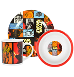 Star Wars Episode VII Breakfast Set The Force Awakens Retro