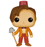 Doctor Who POP! Television Vinyl Figure 11th Doctor with Fez & Mop 9 cm
