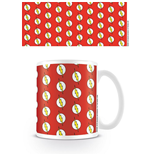 DC Originals Mug The Flash Logo Pattern
