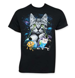 ADVENTURE TIME Men's Laser Eyes Tee Shirt