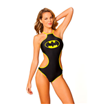 BATMAN High Neck Monokini Swimsuit