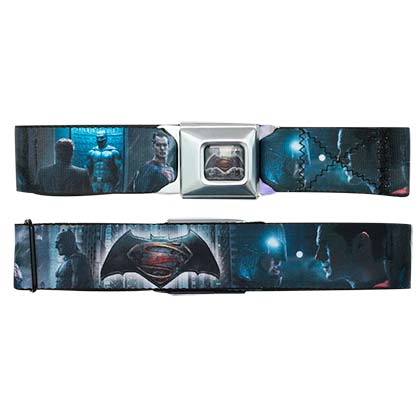 BATMAN V SUPERMAN Seatbelt Buckle Belt