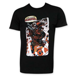 DEADPOOL Men's Black Here Comes DEADPOOL Tee Shirt