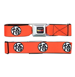 Dragonball Z Orange Seatbelt Buckle Belt