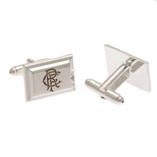 Rangers F.C. Silver Plated Cufflinks