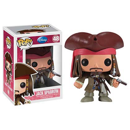 Funko Pop DISNEY Jack Sparrow Vinyl Figure