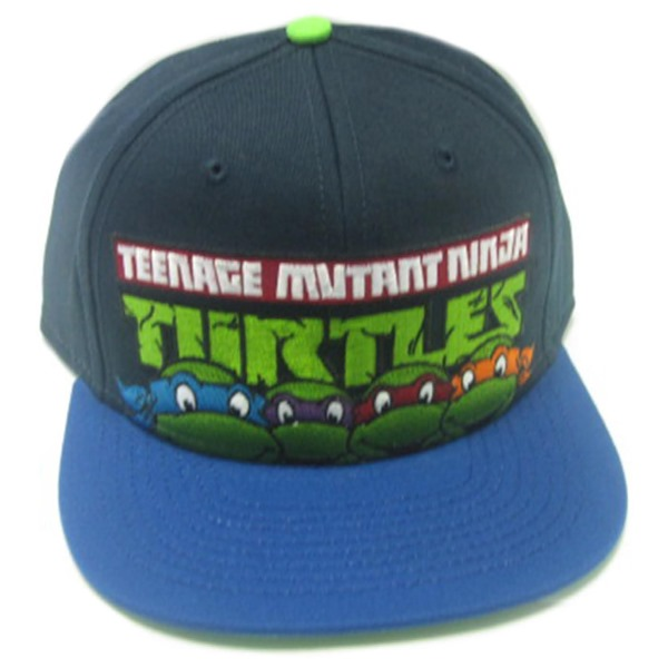 Teenage Mutant Ninja Turtles Hat Faces Contrast