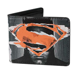 BATMAN V SUPERMAN Faces Logos Bifold Wallet