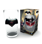 Batman v Superman Pint Glass Logo