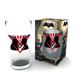 Batman v Superman Pint Glass VS