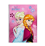Frozen Notebook A4 Anna & Elsa
