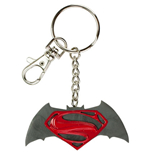 BATMAN V SUPERMAN Logo Keychain