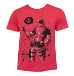 DEADPOOL Dead Thumb Red T-Shirt