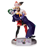 DC Comics Bombshells Statue The Joker & Harley Quinn 2nd Edition 25 cm