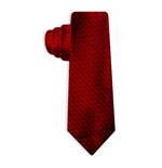 HITMAN Unisex Agent 47 Symbol Real Silk Tie, One Size, Red