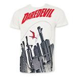 DAREDEVIL Gun City Off White T-Shirt