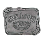 JACK DANIELS Silver Scroll Belt Buckle