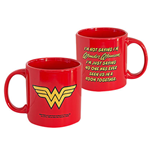 WONDER WOMAN Red Mug