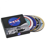 NASA Coaster 4-Pack Badges