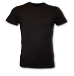 Metal Streetwear - Fitted Fine Combed T-Shirt Black