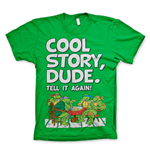 Teenage Mutant Ninja Turtles T-Shirt Cool Story Dude