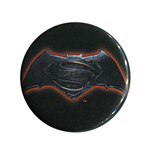 BATMAN V SUPERMAN Dawn Of Justice Logo Button