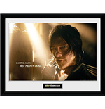 The Walking Dead Print - Daryl Light - 30x40cm