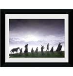 The Lord of The Ring Framed Print - Fellowship 30x40cm