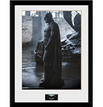 Batman vs Superman Framed Print - Batman