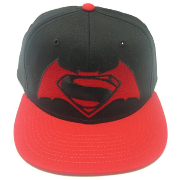 Batman V Superman Hat Contrast Logo