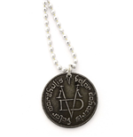 Game of Thrones Pendant & Necklace Iron Coin of the Faceless Man