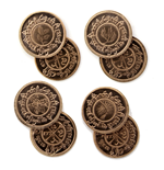 The Hobbit Coin Set #4 Shire Haypennies
