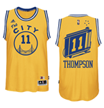 Men's Golden State Warriors Klay Thompson Hardwood Classics Swingman Jersey