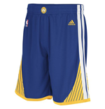 adidas Golden State Warriors New Swingman Royal Blue Shorts
