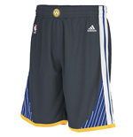 adidas Golden State Warriors New Swingman Slate Shorts