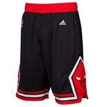 adidas Chicago Bulls Swingman Black Shorts
