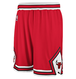 adidas Chicago Bulls Swingman Red Shorts