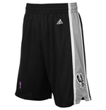adidas San Antonio Spurs Black New Swingman Shorts