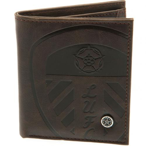 Leeds United F.C. Luxury Lined Wallet 880