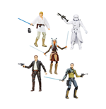 Star Wars Episode VII Black Series Action Figures 15 cm 2016 Wave 2 Assortment (6)