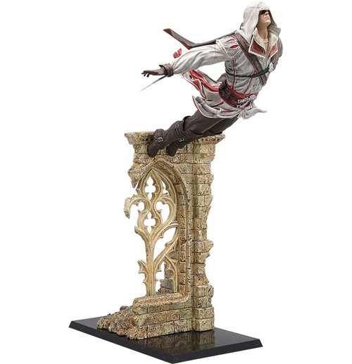 Buy Official Assassin S Creed Ii Pvc Statue Leap Of Faith Ezio 39 Cm